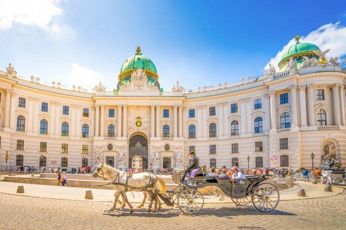 القصر الإمبراطوري هوفبورغ، فيينا، السياحة في النمسا