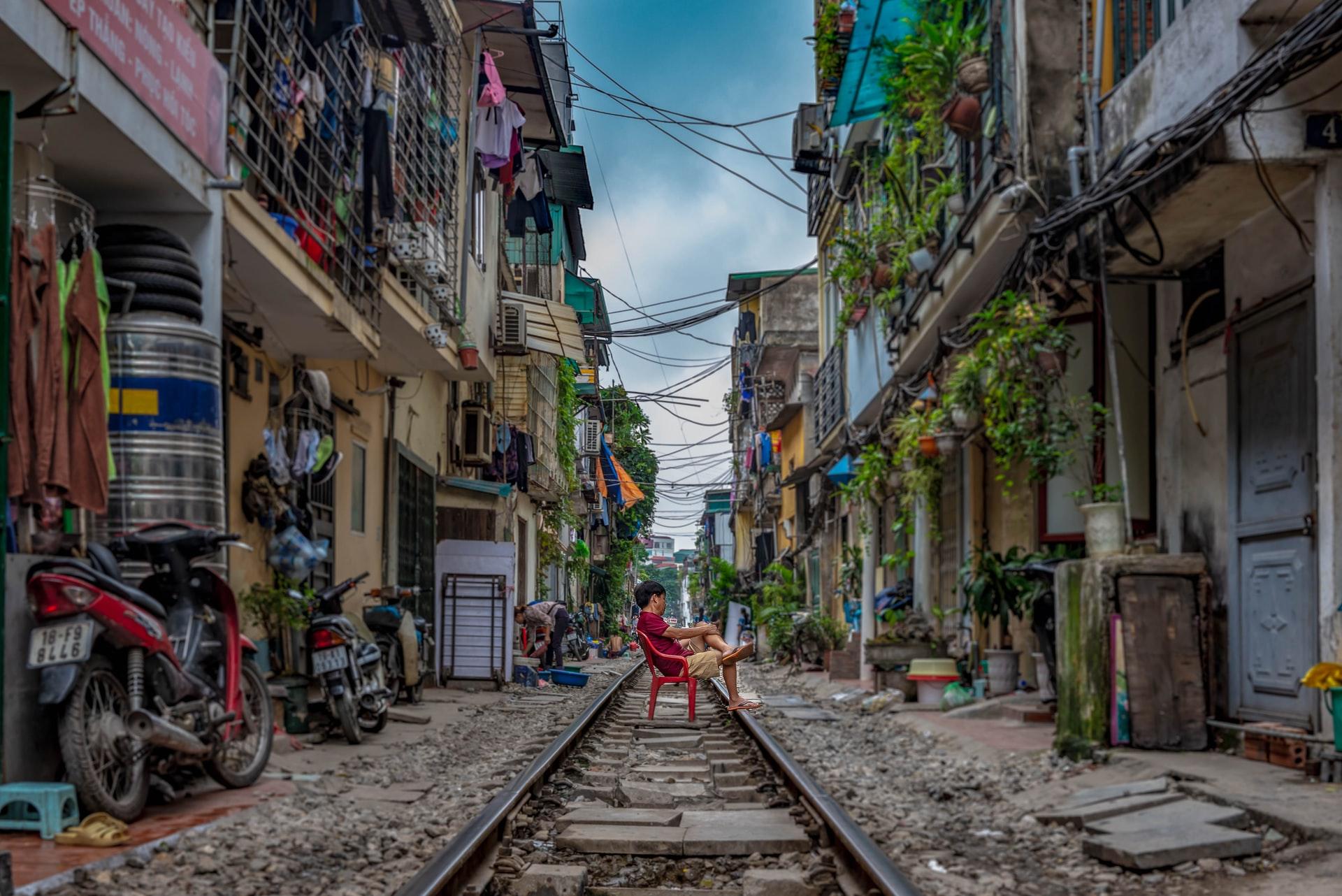 شارع القطار