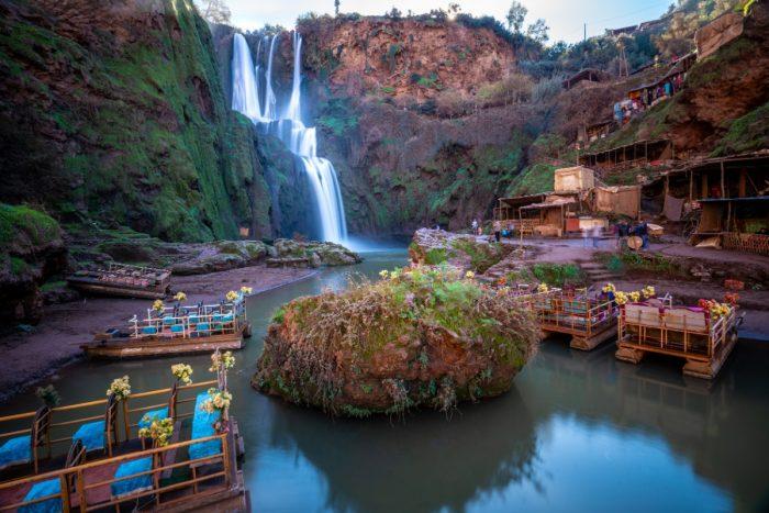 شلالات أوزود، سياحة المغرب للعوائل