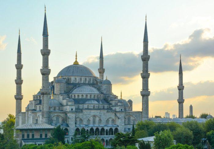 صور اسطنبول، أفضل المعالم السياحية في اسطنبول، الجامع الأزرق the blue mosque