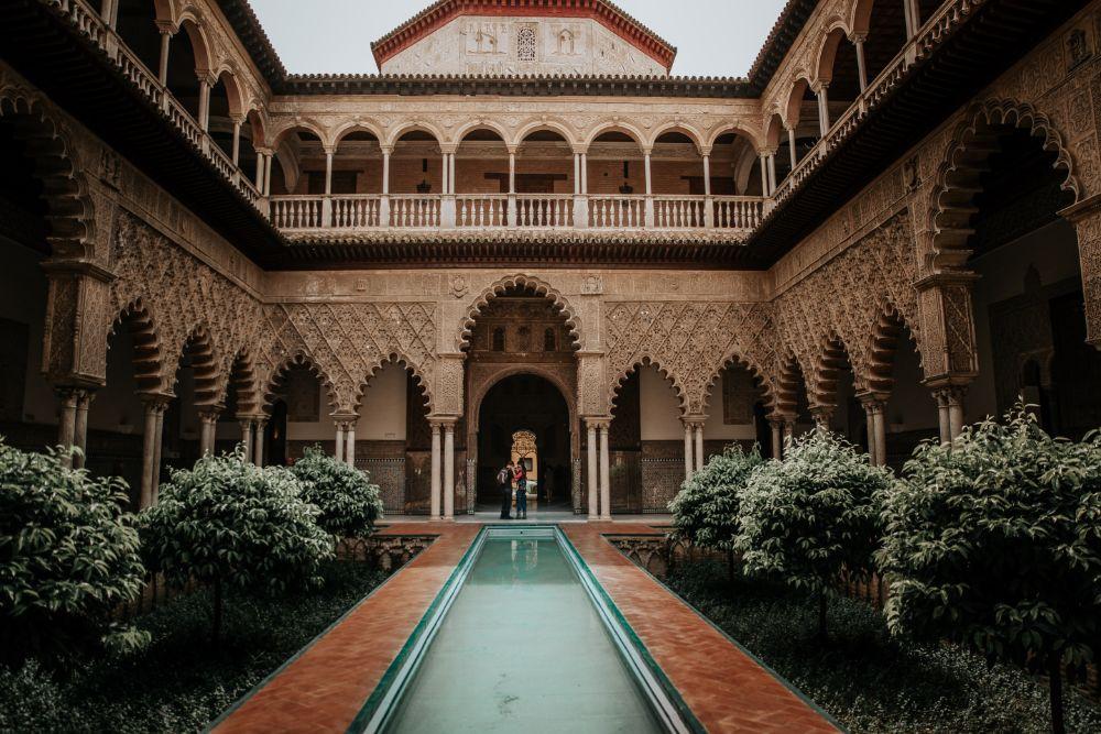صور إسبانيا، أفضل الوجهات السياحية في إسبانيا، قصر المورق، إشبيلية