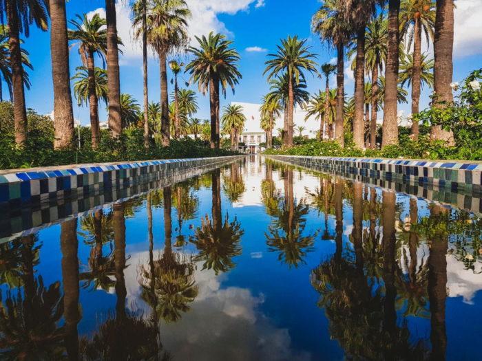 صور سفر الدار البيضاء، المعالم السياحية في الدار البيضاء، حديقة الجامعة العربية