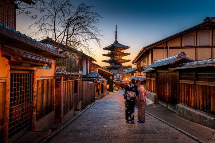 مدينة كيوتو القديمة، صور اليابان